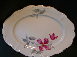 "Rosenthal Pompadour Beatrice 13"" Oval Platter - $58.99"