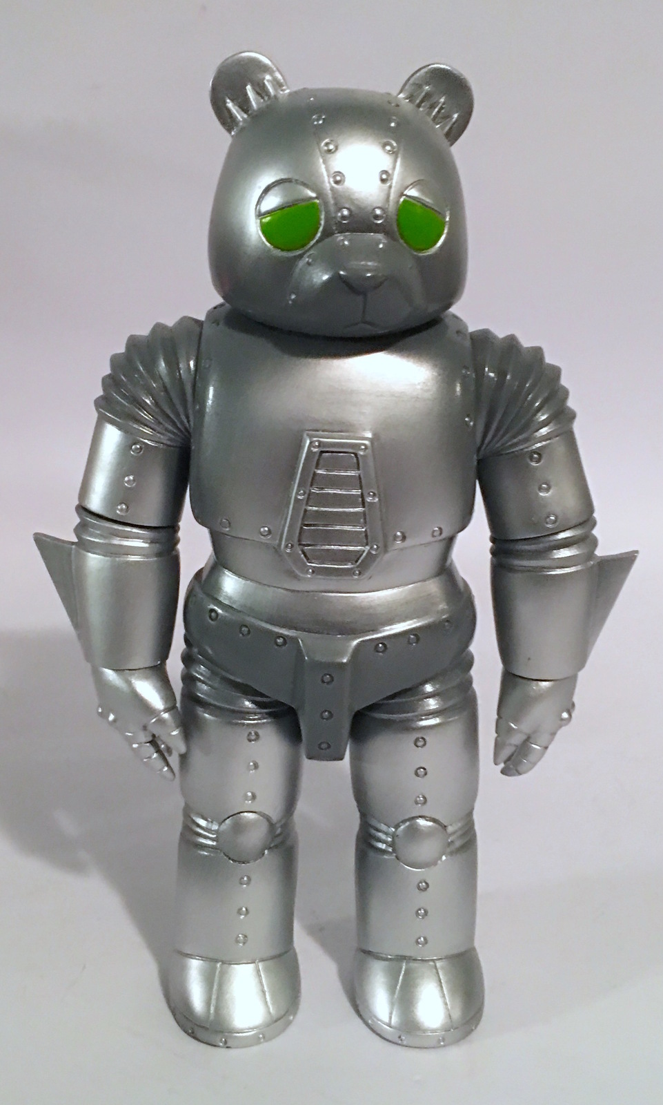 Robot Bear SILVER Kaiju for GrownUps