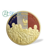 Soccer World Champion France Challenge Coin 2018 Football Commemorative - $21.90