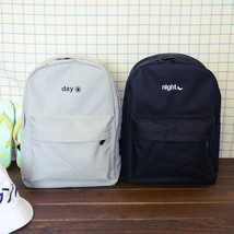 NEW Twill Oxford Cloth Shoulder Backpack Schoolbag Simple Solid Color Un... - $16.18