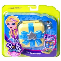 Polly Pocket - Hidden Hideouts - Unicorn Utopia - $17.81
