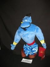 "ShopDisney Store Authentic Genie plush Doll Aladdin Halloween 18"" Stuffe... - $28.49"