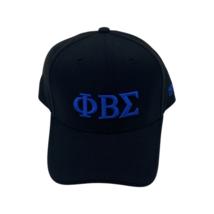 Phi Beta Sigma - Adjustable Baseball Cap (Letters/Black) - £20.07 GBP