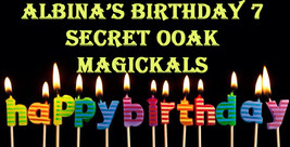 6 LEFT!! THROUGH JULY 15 $179 ALBINA 100 BIRTHDAY COLLECTION UNSEEN MAGICK - $179.00
