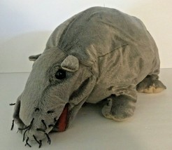 """2011 Ncis Folkmanis Approx 18"""" Bert The Farting Hippo Puppet No Fart Sound Box - $66.71"""