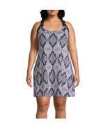 Porto Cruz Diamond Dress Swimsuit Cover-Up Plus Size 1X, 2X Msrp $49.00   - $21.99