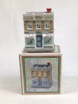 Home Town America Christmas Village Blue Ribbon Cafe 1993 w/ Box NOS - $8.81
