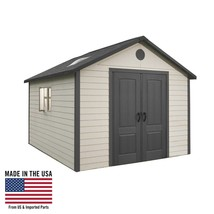 Lifetime 11x16 Plastic Outdoor Storage Shed w/ Floor (6415 / 0125) - $2,801.70