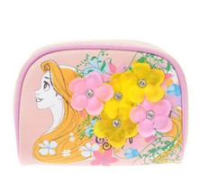 2015 Disney Store Japan Rapunzel Cosmetic Pouch Case bag Happily ever after  - $86.13