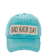 Distressed Vintage Country Style Bad Hair Day Baseball Cap Hat Adjustabl... - $19.79