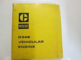 Caterpillar D348 Vehicular Engine Service Shop Repair Manual BINDER CAT ... - $118.75