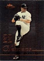 2003 Fleer Mystique #22 Roger Clemens - $2.95