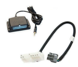 Chrysler radio auxiliary audio input interface. Play aux MP3 on factory ... - $65.99