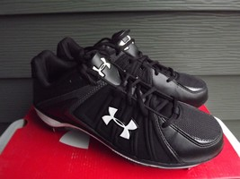 Under Armour 1097045-001 Ignite Low ST Size 9 Baseball Cleats - $23.20