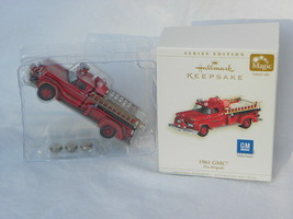 "2006 Hallmark Fire Brigade Series ""1961 GMC"" Lighted Christmas Ornament - $19.99"