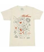 Game of Thrones TV Series Westeros Map Image T-Shirt NEW UNWORN - $16.99