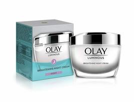 Olay Night Cream: Luminous Night Moisturiser, 50 g - $29.86