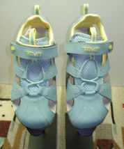 Sport Leather Sky 3 Sz Toe Blue TEVA MINT Women's CUTE Closed Sandal qOxHHYU