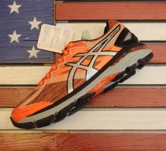 ASICS GT 2000 4 LITE Running Shoes Hot-Orange/Silver/Black [T6F4N.3093] ... - $75.69