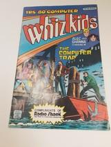 Vintage Whiz Kids Comic The Computer Trap August 1984 Radio Shack - $6.83