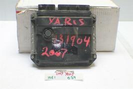 2006-2007 Toyota Yaris MT Engine Control Unit ECU 8966152E90 Module 29 10E1 - $34.64