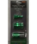 LEGACY A71456B-BG 5pc TYPE B ARO Series Coupler/Plug Kit  NPT 1/4 Steel/... - $7.92