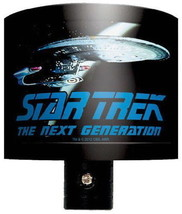 Star Trek: The Next Generation Enterprise Photo Image Night Light NEW UNUSED - $9.74
