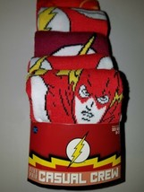Dc comics the flash mens casual crew socks size 10  13 free shipping new - $20.95