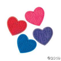 Plastic Valentine Maze Puzzles, Set of 4 - $4.24