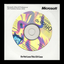 Microsoft Office XP Professional w Publisher 2002 2 CD Set - $42.95