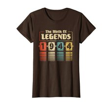 Funny Shirts - Retro The Birth Of Legend 1944 74th Birthday Gift 74 yrs old Wowe image 5