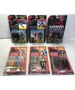 Batman Lot of 6 Different Animated Batman Figures + Jet Pack Joker - Ken... - $72.57