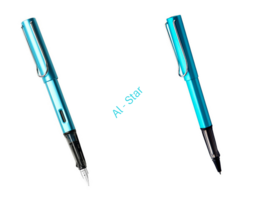 2017 Lamy Safari AI-star Sky Blue Roller Ball Pen + Fountain Pen for choose - $13.99+