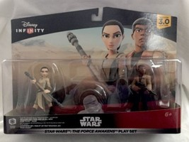 "DISNEY INFINITY 3.0 EDITION STAR WARS ""THE FORCE AWAKENS"" PLAYSET..REY..... - $12.19"