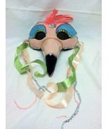 """Katherine's Collection Flamingo large mask 8 1/4 wide x 7"""" high x 7"""" deep - $79.99"""