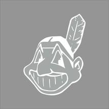 Cleveland Indians MLB Team Logo 1 Color Vinyl Decal Sticker Car Window Wall - $3.95+