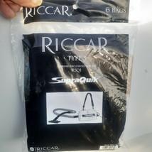 6-Pack Genuine Riccar Type S Vacuum Bags RSQ1 Supraquik  RSQ-6 - $13.29