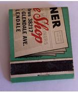 Headliner Coffee Shop Glendale Vintage Matchbook Travel Souvenir - $9.49