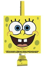 SpongeBob Classic Party Favor Blow Outs 8 Per Package Birthday Supplies New - $4.70