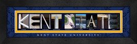 Kent State University Officially Licensed Framed Campus Letter Art - $39.95