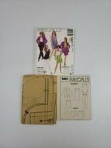 McCALLS MISSES TOP DRESS JACKET SKIRT PANTS & SHORTS PATTERN 5861 10/12 ... - $7.50