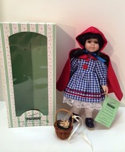 Seymour Mann Doll Storybook Tiny Tots Red Riding Hood Limited Edition Dolls - $27.71