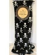 Halloween Plush Throw Blanket Skeleton Cross Bones 50x70 Holiday Spooky ... - $32.99