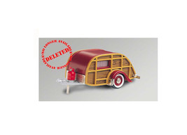 Wesley Slumbercoach Trailer (1947) Diecast Model Car BRK 065 - $104.33