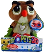 My ePets 3D - Owl [Brand New] - $29.77