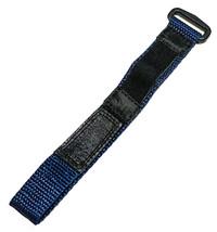 Speidel 12-16mm Azul y Negro Nailon Cierre Adhesivo Rendimiento Correa d... - $8.62