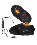Heated Slippers for Cold Weather,Refial Flannel Warm Slippers,Hot Shoes,... - $53.94