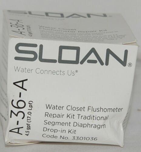 Sloan Water Closet Flushometer Repair Kit Traditional Segment Diaphragm Drop In