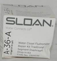 Sloan Water Closet Flushometer Repair Kit Traditional Segment Diaphragm Drop In image 1