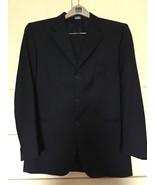 Men's Lanificio F.lli Cerruti Dal 1881 Custom Fit 3 Button Navy Suit (42R) - $187.00